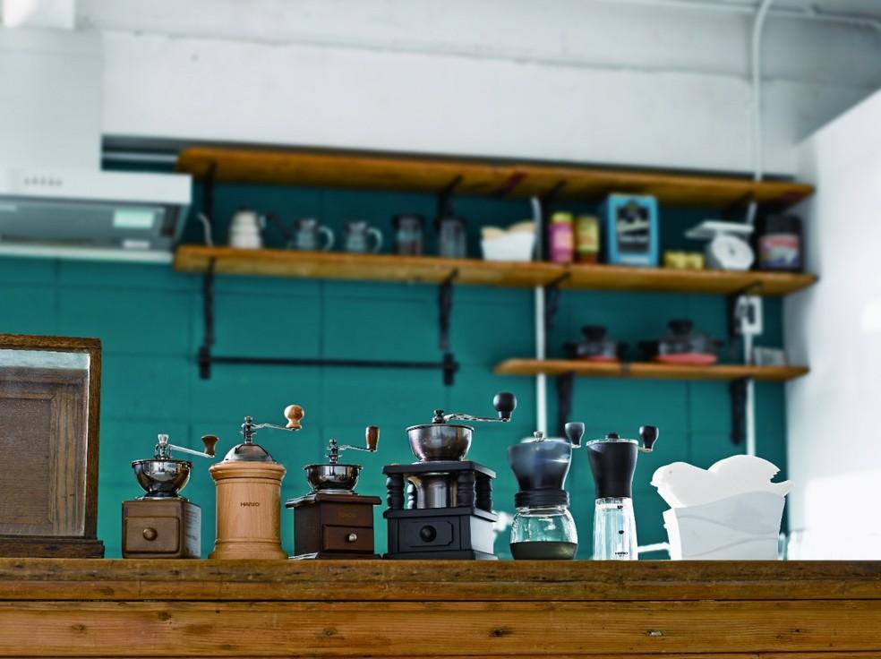 Moedores de café — Foto: Divulgação/Flavours