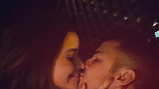 Talita Younan comemora primeiro dia dos Namorados com Matheus Braga