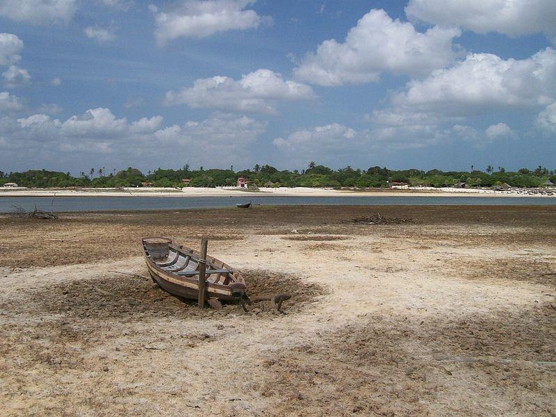 Estiagem; seca (Foto: Claudio Oliveira Lima/ Wikimedia Commons)
