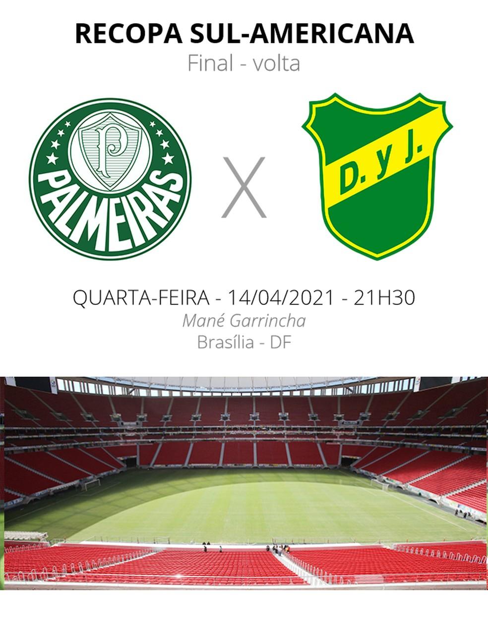 Palmeiras x Defensa y Justicia: veja escalações, desfalques e arbitragem | palmeiras | ge