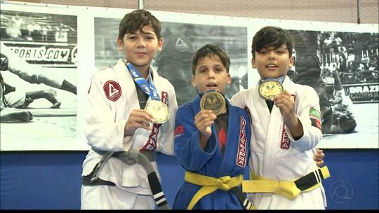 Trio paraibano se destaca na etapa do Sul-Americano de Jiu-Jitsu, no Rio de Janeiro