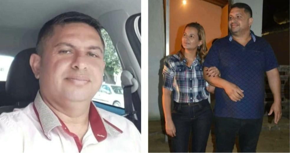 Aderlon e Dayse foram casados durante 21 anos — Foto: Reprodução/TV Paraíba