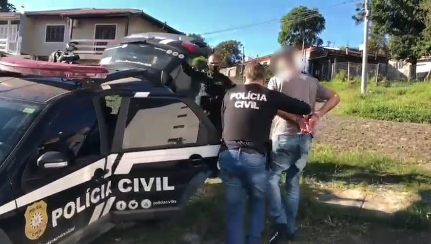 Polícia prende três suspeitos de roubos a estabelecimentos comerciais no RS