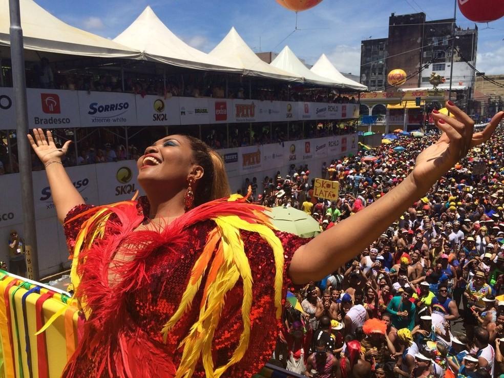 Gaby Amarantos é uma das atrações do carnaval do Recife (Foto: Thays Estarque / G1 )