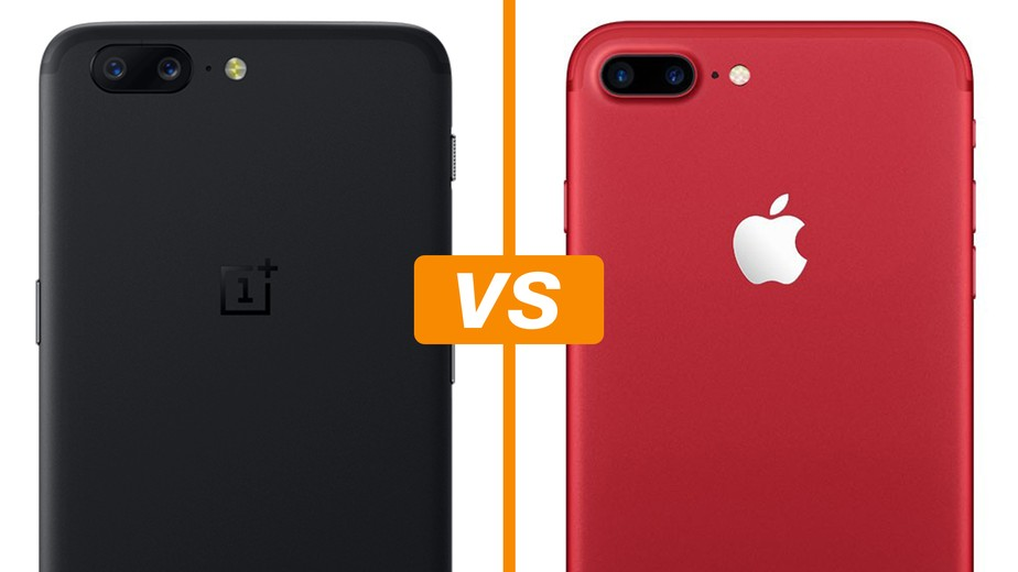 Oneplus 5 Vs Iphone 7 Plus C 226 Mera Dupla Marca Presen 231 A Em