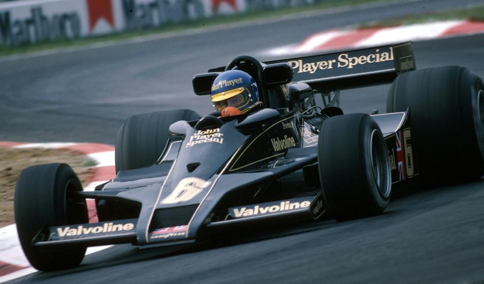 Ronnie Peterson guiou Lotus 78 no GP da Bélgica de 1978 — Foto: Getty Images