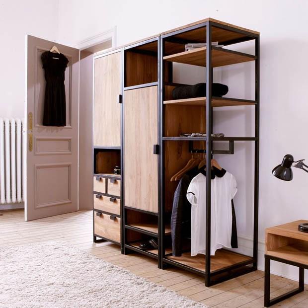 guarda roupa aberto como fazer o seu casa vogue ambientes. Black Bedroom Furniture Sets. Home Design Ideas