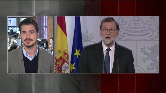 Parlamento da Catalunha vai se reunir na próxima quinta-feira (26)