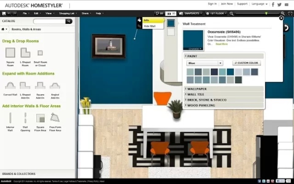 homestyler interior design app download pc