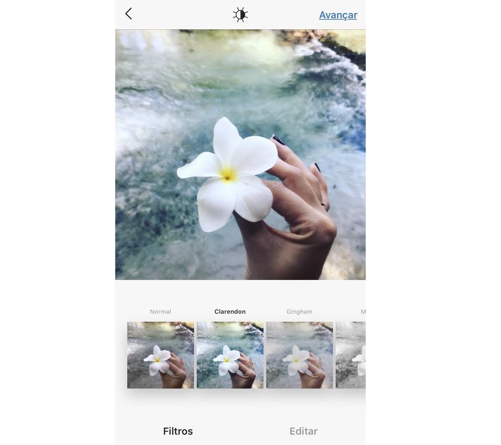 Filtro Clarendon é o mais utilizado no Instagram no mundo — Foto: Reprodução/Rodrigo Fernandes
