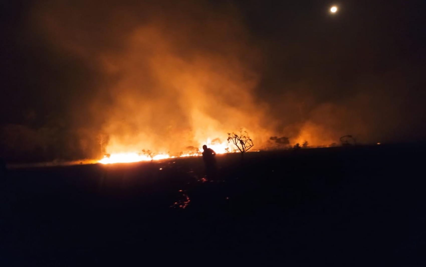 Incêndio atinge Parque Estadual de Terra Ronca e destrói mais de 7 mil hectares em São Domingos