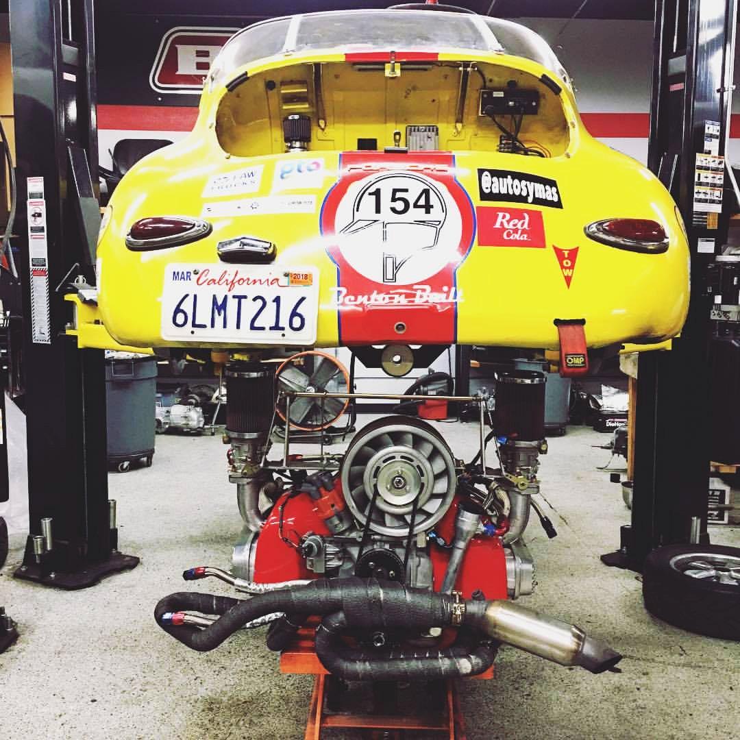 Porsche 356 #154 La Carrera Panamericana A (Foto: Divulgação/Benton Motorsport)