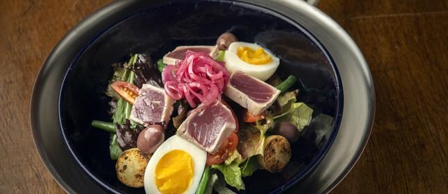 Bão: salada Niçoise