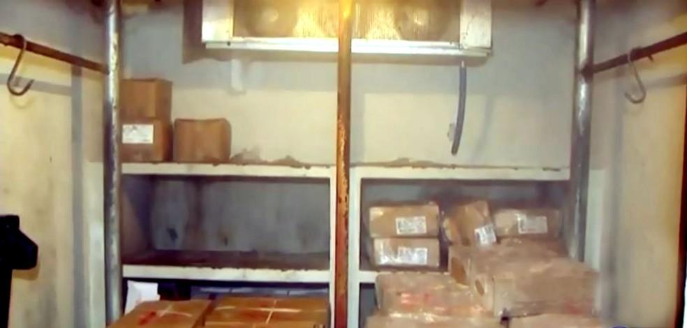 Na ação civil pública, MP apontou problemas no sistema de refrigeração da cozinha-piloto — Foto: TV TEM/Reprodução/Arquivo