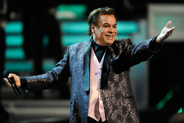 O cantor mexicano Juan Gabriel (1950-2016) (Foto: Getty Images)