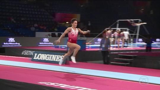 Aos 44 anos, ginasta Oksana Chusovitina desafia a idade e segue competindo em alto nível