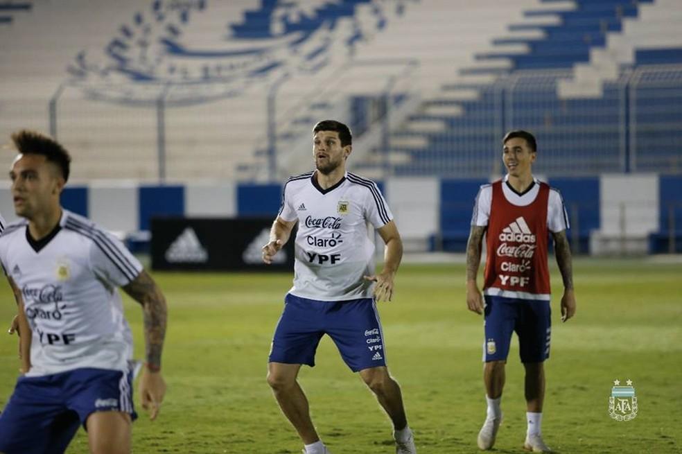 Kannemann está na pré-lista da seleção argentina — Foto: Divulgação/AFA