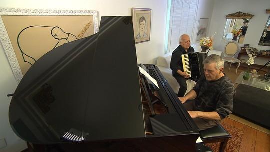 Programa mostrou o encontro de dois músicos da rica cena instrumental de Minas