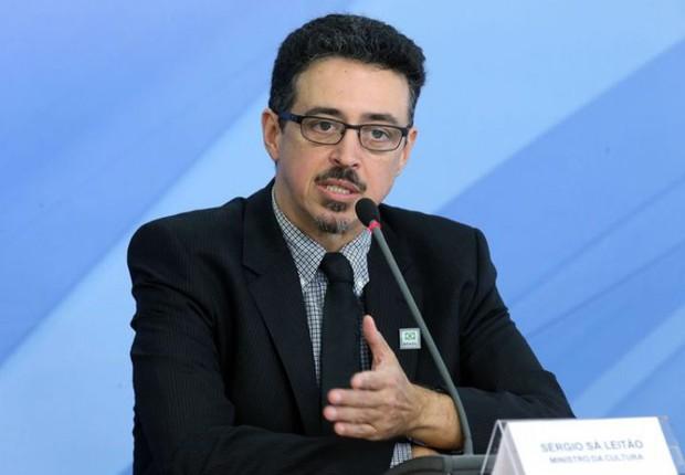 O ministro da Cultura, Sérgio Sá Leitão (Foto: Antonio Cruz/Agência Brasil)