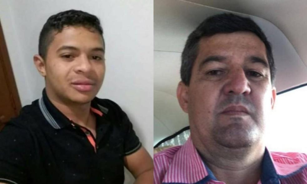 Tassiano dos Santos Fernandes e o piloto Leonardo Pereira Machado  estavam a bordo do monomotor Cessna AirCraft-210L — Foto: Reprodução/Redes Sociais