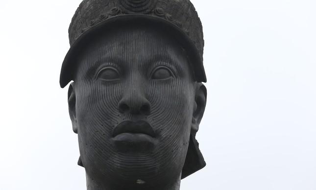 Busto de Zumbi dos Palmares na Avenida Presidente Vargas, no Rio
