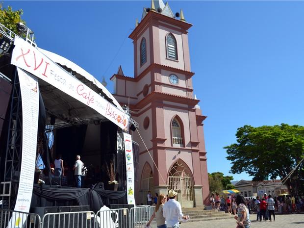 Festa do Biscoito de São Tiago teve neste ano a sua 16ª edição (Foto: Samantha Silva / G1)