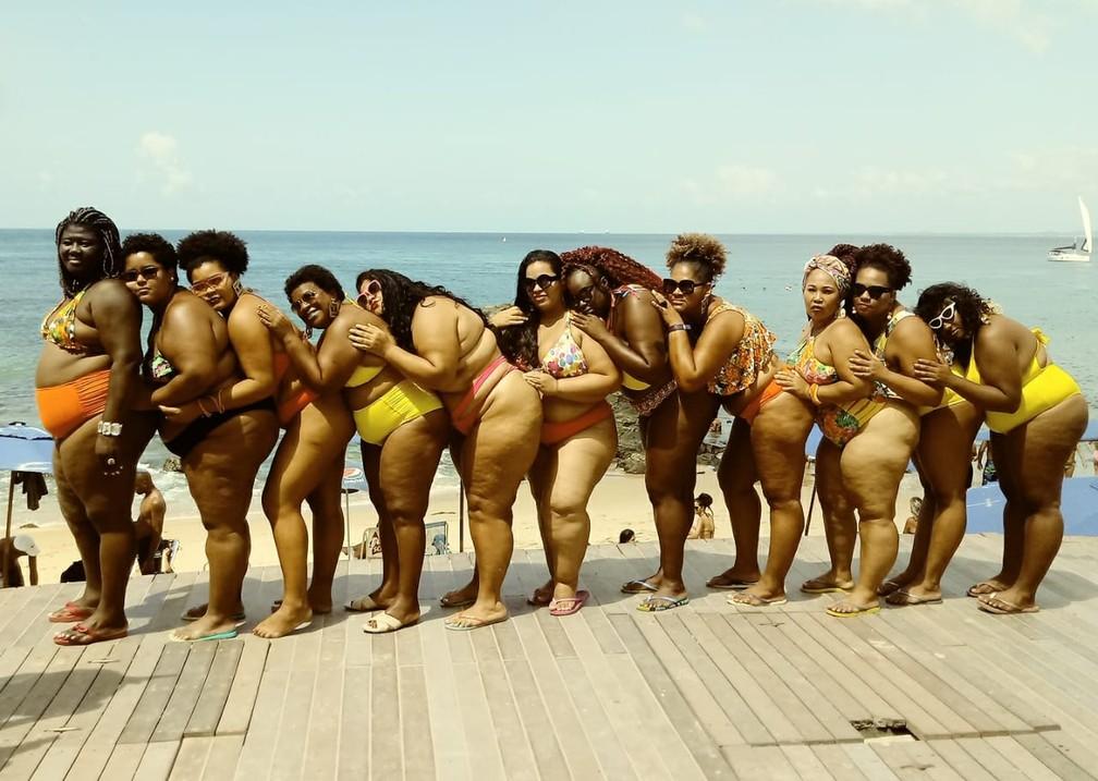 Movimento surgiu em 2016, com o intuito de combater a gordofobia e incentivar a valorização das mulheres gordas. — Foto: Arquivo Pessoal