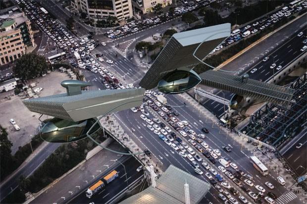 Empresa desenvolve sistema para criar carro voador silencioso (Foto: Divulgação)