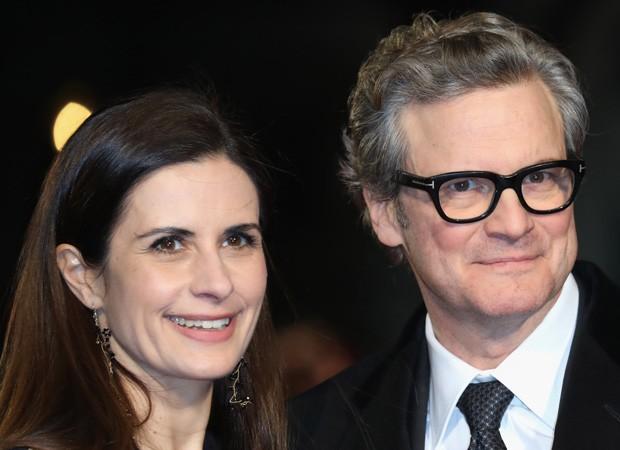 Colin Firth e Livia Giuggioli (Foto: Getty Images)