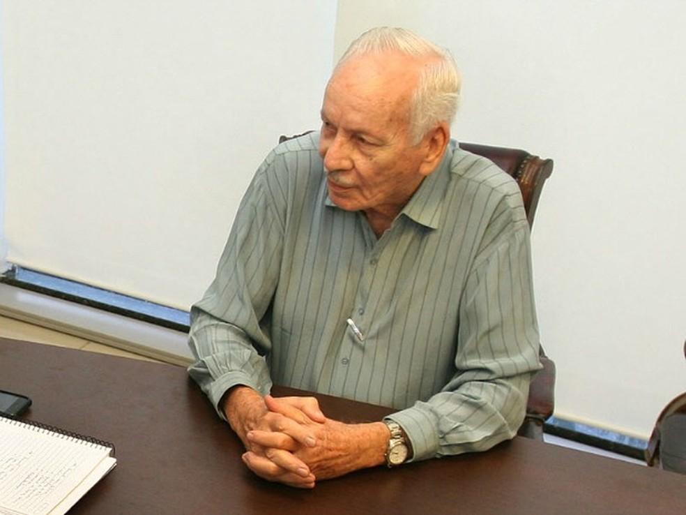 Ex-governador e ex-prefeito Frederico Campos. — Foto: Edson Rodrigues / Secom-MT