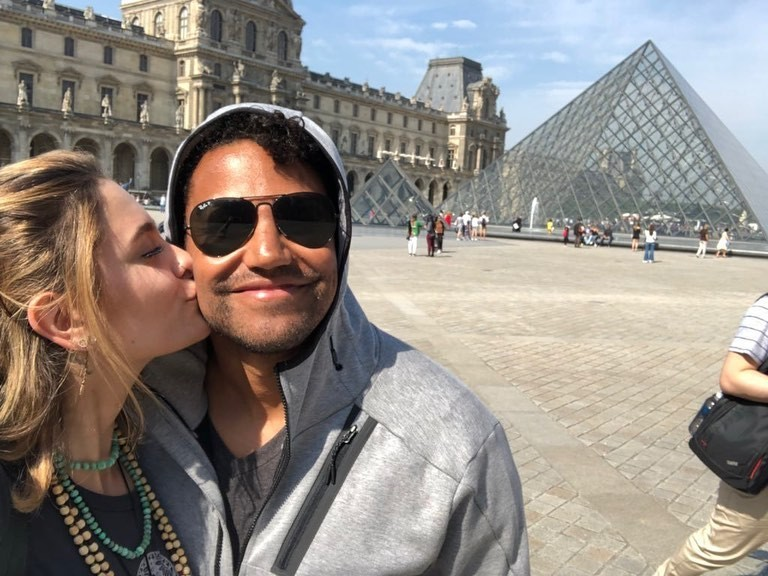Paris Jackson e o primo TJ Jackson (Foto: Instagram)