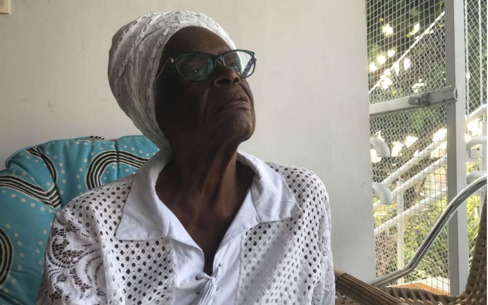 Mãe Stella estava internada desde o dia 14 dezembro em hospital de Santo Antônio de Jesus. — Foto: Alan Tiago Alves