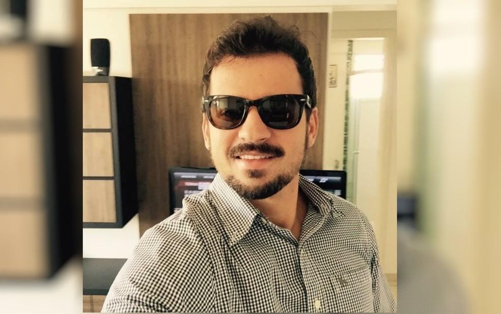 Rodolfo Cabrini desapareceu após cair em lago de Caldas Novas, em Goiás (Foto: Corpo de Bombeiros/Divulgação)