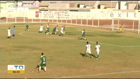 Goleiro sofre frangaço em partida do Tocantinense Sub-19; vídeo