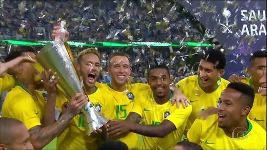 Veja como foi a vitória do Brasil sobre a Argentina