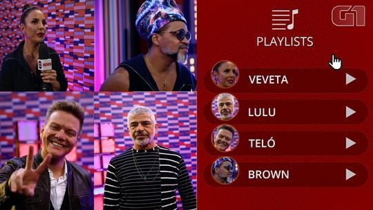VÍDEO: Ivete, Teló, Lulu e Brown contam curiosidades musicais