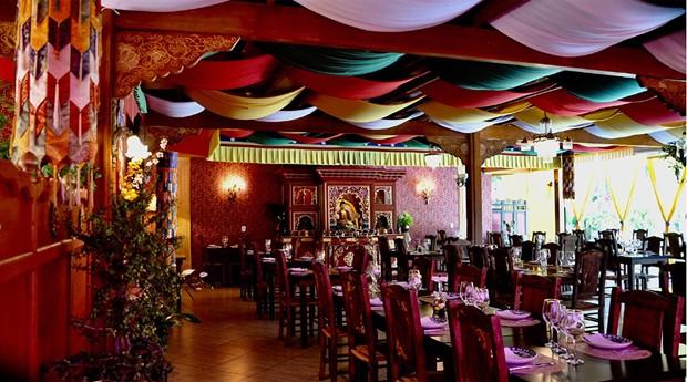 O Espaço Tibet existe desde 2013 e também funciona como um espaço cultural (Foto: Divulgação)