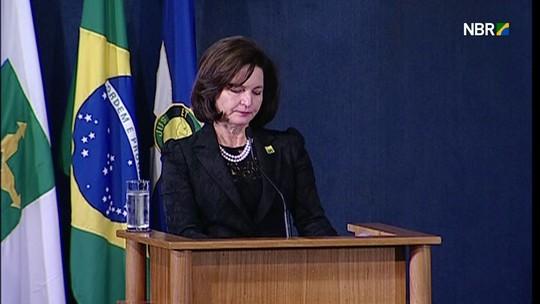 Raquel Dodge diz que MP deve 'garantir que ninguém esteja acima da lei' e que brasileiro 'não tolera corrupção'