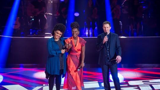 Edyelle Brandão e Winnie encerram primeira noite ao vivo do 'The Voice Brasil'