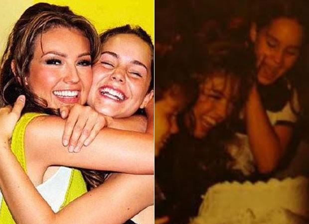 Thalia e Camila Sodi (Foto: Reprodução)