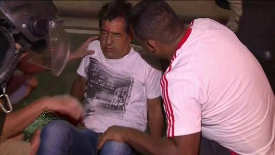 Argentino fica ferido após ser agredido por rubro-negros do lado de fora do Maracanã