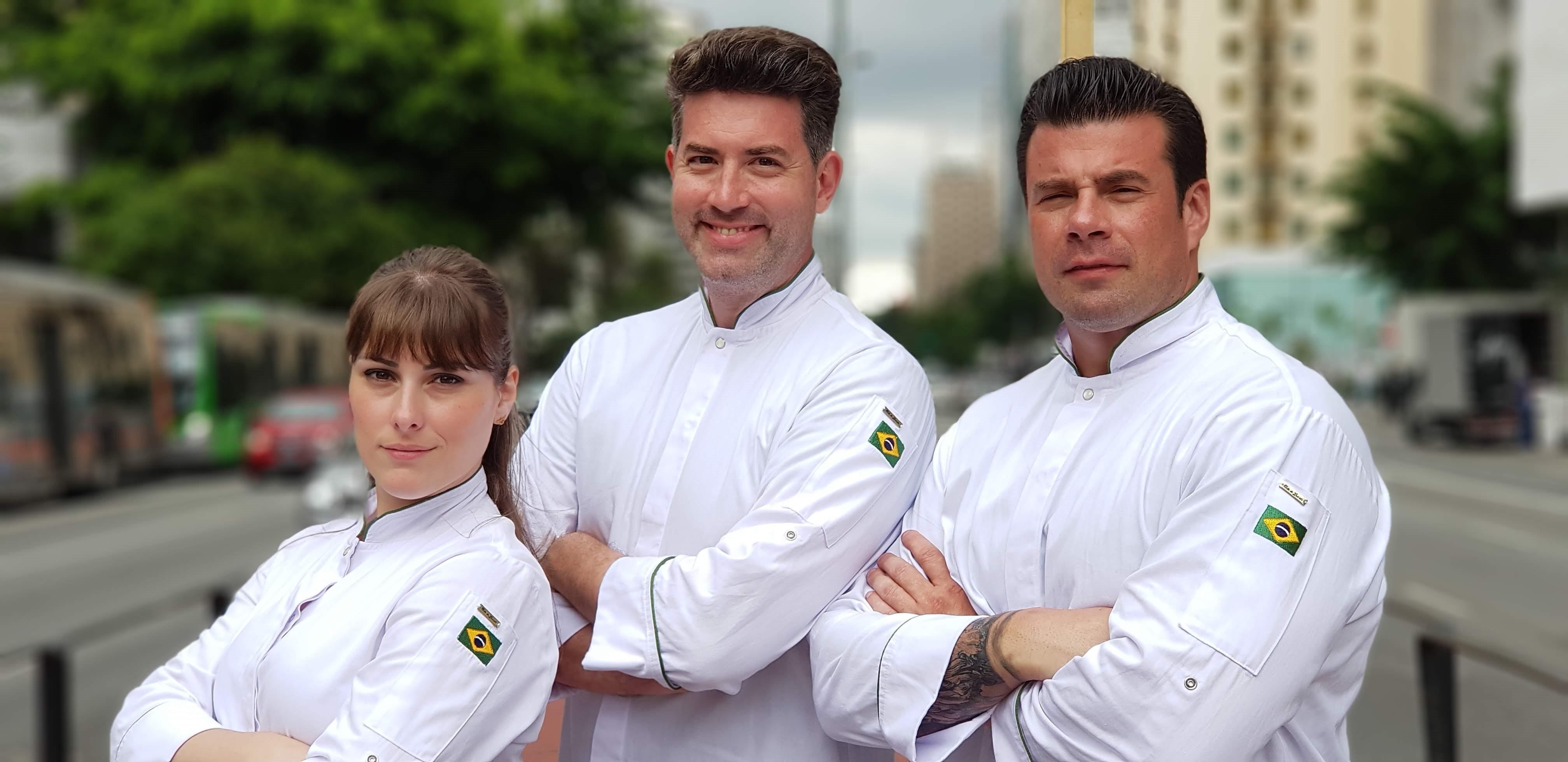 Ale Peruzzo, Rick Zavala e José Negreiros (Foto: Divulgação)