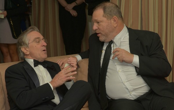 Robert De Niro e Harvey Weinstein (Foto: Getty Images)