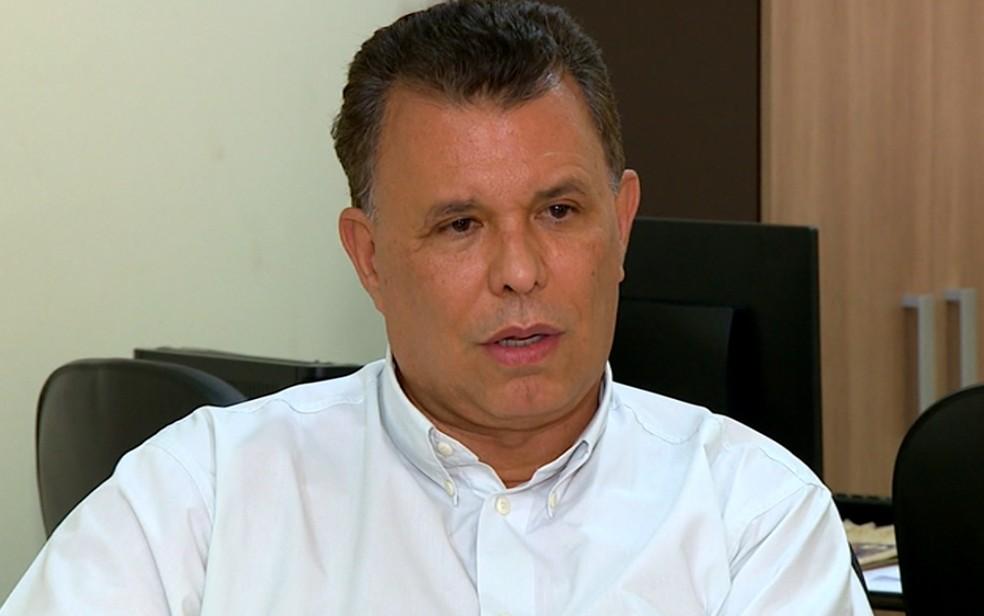 O prefeito de Paulínia, Dixon Carvalho (PP) (Foto: Reprodução/EPTV)