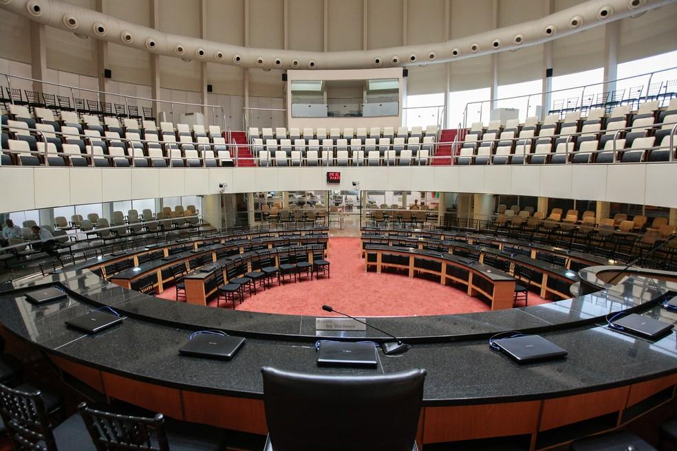Sessão ocorrerá no plenário da Alesc — Foto: Karina Ferreira/Agência AL/Divulgação