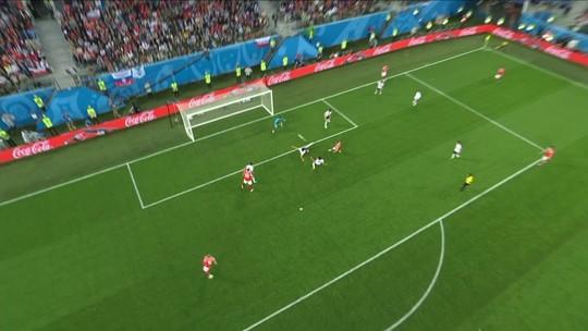 Assista aos gols de Rússia 3 x 1 Egito