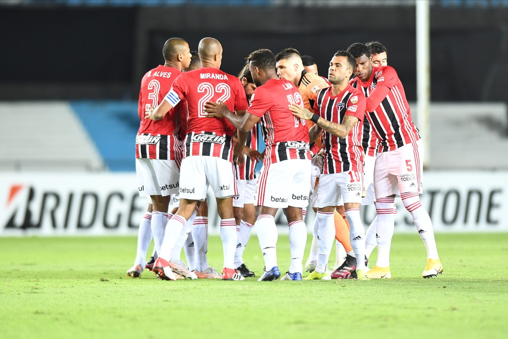 Racing x São Paulo — Foto: Staff images /CONMEBOL