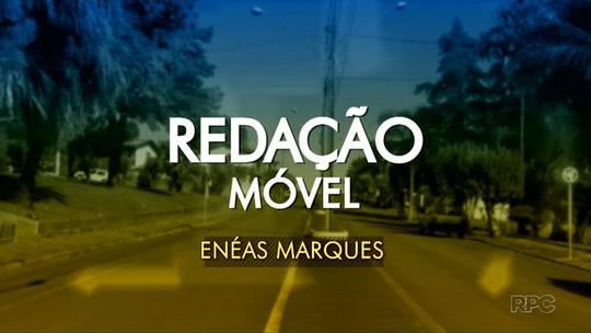 Conheça Enéas Marques na Redação Móvel do Paraná TV