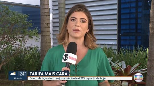 Conta de água fica mais cara a partir de hoje em Minas Gerais