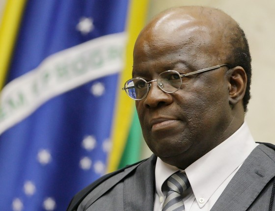 Joaquim Barbosa, ex-ministro do Supremo (Foto: Fellipe Sampaio/SCO/STF )